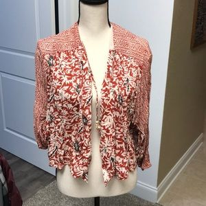 Fun Free People Jacket!